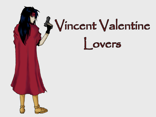 Hello and welcome to Vincent Valentine Lovers! A wiki dedicated to Vincent from Final Fantasy 7 because quite frankly he#39;s great!