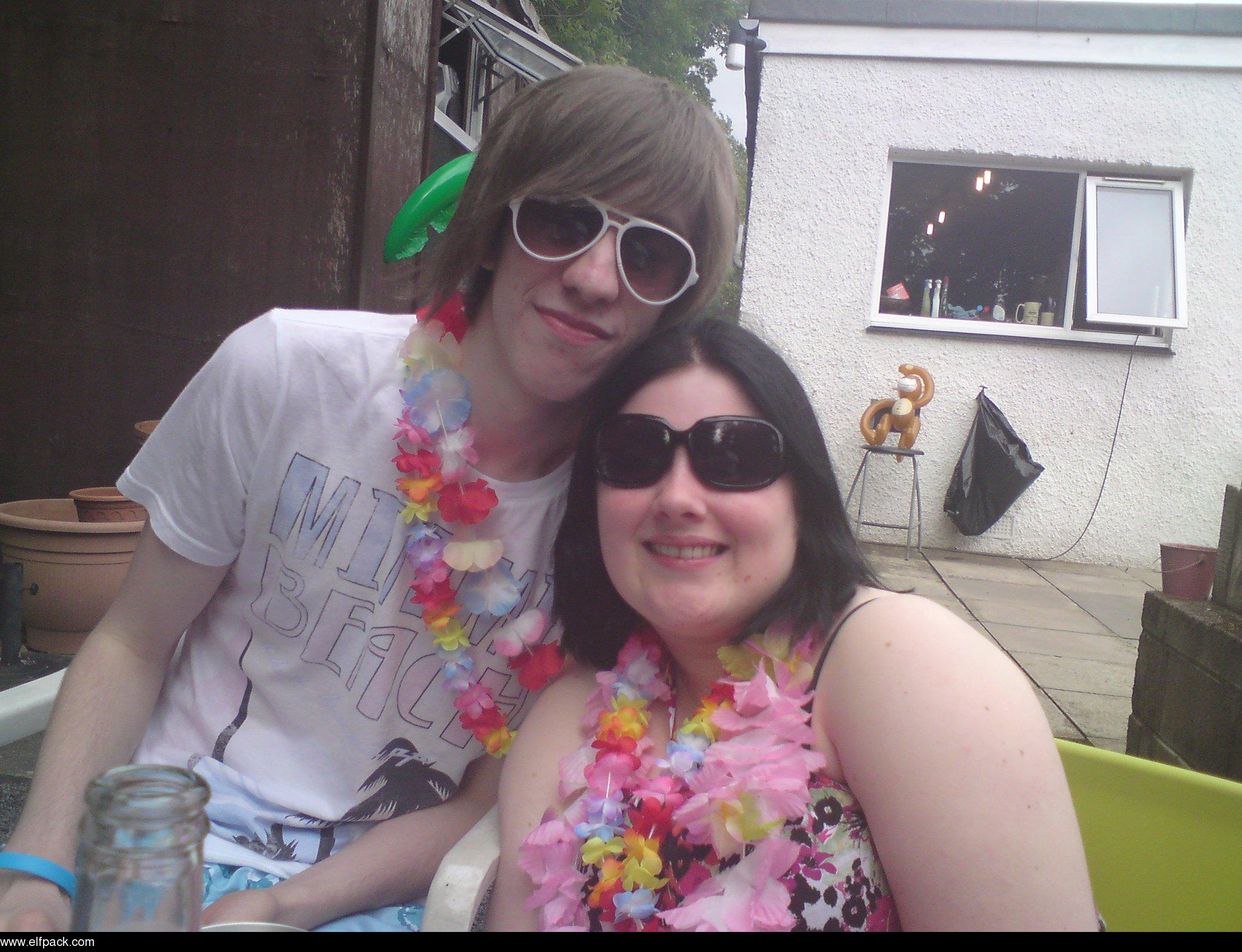 Me_and_Ben_:)_At_Morven's_party_^^_