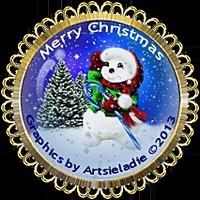 <img:http://www.elfpack.com/stuff/MerryChristmasSnowmanMedallionByArtsieladie2013-12-11_200x200rev.png>