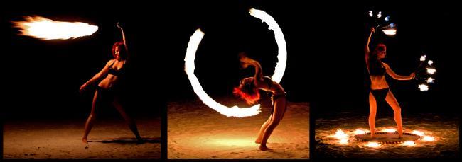 Sasha's Firedancing