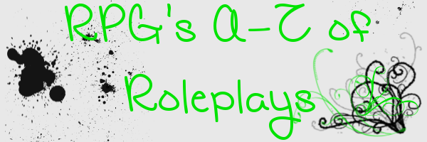 RPG's A-Z of Roleplays